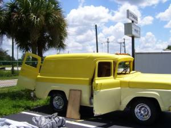 1958 Ford Panel Truck Picture