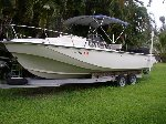 25' Boston Whaler Outrage Cuddy offer Boats w/Motor